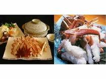 カニ鍋+蟹刺し1匹