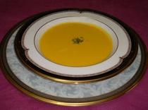 春のスープ 越冬人参のスープ