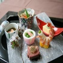 懐石料理例 ②
