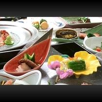 ■ お料理一例(鮑他、お料理一式例)