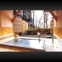 ■ 貸切露天風呂-金時の湯