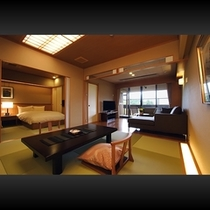 ■ 本館露天風呂付客室(室内)