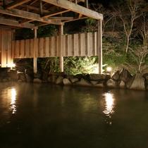 ■お風呂夜景(露天)