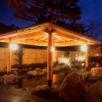 森の湯 露天風呂(夜景)
