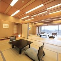 【楽山館】 露天風呂付き 和室12.5+10畳+広縁