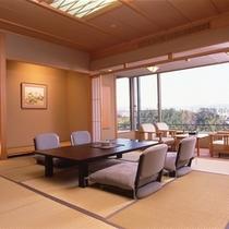 【楽山館】 和室12.5+6畳+広縁2