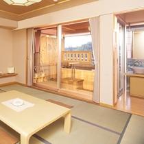 露天風呂付客室和室10畳タイプ