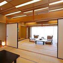 当館の最も格式の有る楽山館露天付き客室
