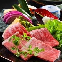 ◆美食御膳 和牛ハイクラス陶板焼き