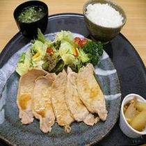 【生姜焼き】夕食レストラン花茶屋の大人気メニュー!ついついごはんが進みます。
