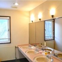 明るい洗面室