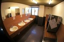 2階の洗面所(禁煙フロアー)
