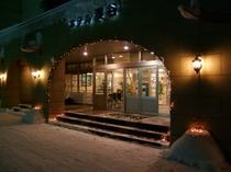 【冬のホテル渓谷】