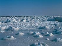 【オホーツクの流氷】