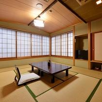*【和室/筑波】お部屋から筑波山は見えませんが、当館の最上階で位置し明るく広々とした和室です。