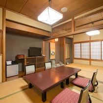 *【和室/友禅】元料亭だった名残のあるお部屋は1室ごと違う造りになっております。