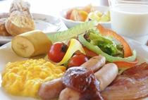 朝食ビュフェ 洋食盛付けイメージ
