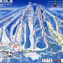 *斑尾スキー場マップ