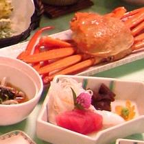 *紅ズワイ蟹の和食御膳