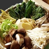 天ぷらビッフェ 山菜