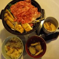 秋の味覚松茸料理4品を美味しくいただく♪。.:*・゜