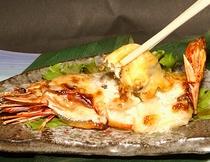 海老のマヨネーズ焼き