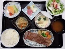 受験プラン(サーロインステーキ定食)