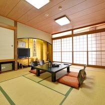 *和室10畳/美しい那須連山と那珂川の四季を遠くから望む―清潔感あふれるお部屋