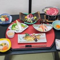 *夕食一例/ お料理少なめの季節の和会席<くつろぎコース>