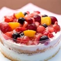 嬉しい嬉しい美味しいケーキをご用意!