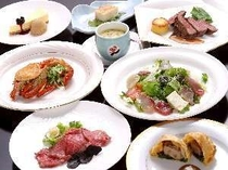 【料理】世界3大珍味を堪能できるプランでちょっとリッチなをディナーを…。