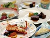【料理】オマール海老付プランで美味しい時間を…。