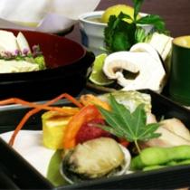 京野菜と湯葉をメインとした京会席!!生湯葉のお造りが絶品!!【2014.8月イメージ】