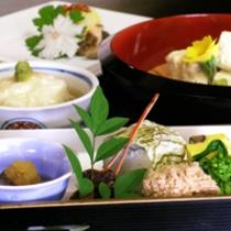 京野菜と湯葉をメインとした京会席!!生湯葉のお造りが絶品!!【2013.12月イメージ】