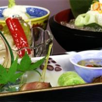 京野菜と湯葉をメインとした京会席!!生湯葉のお造りが絶品!!【2012.6月イメージ】