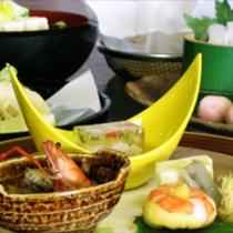 京野菜と湯葉をメインとした京会席!!生湯葉のお造りが絶品!!【2012.9月イメージ】