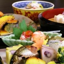 京野菜と湯葉をメインとした京会席!!生湯葉のお造りが絶品!!【2013.10月イメージ】