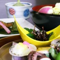 京野菜と湯葉をメインとした京会席!!生湯葉のお造りが絶品!!【2013.3月イメージ】