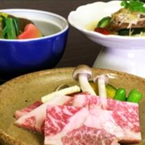国産霜降り牛をメインとした京会席!!お肉好きにはたまらない!!【2013.12月イメージ】