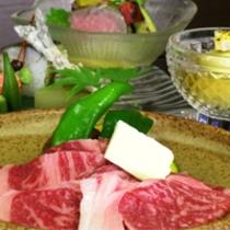 国産霜降り牛をメインとした京会席!!お肉好きにはたまらない!!【2014.7月イメージ】