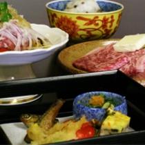 国産霜降り牛をメインとした京会席【2011.2月イメージ】