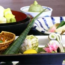 京野菜と湯葉をメインとした京会席!!生湯葉のお造りが絶品!!【2014.5月イメージ】