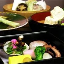 京野菜と湯葉をメインとした京会席【2011.3月イメージ】