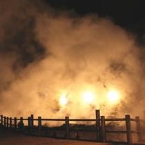 夜の雲仙地獄