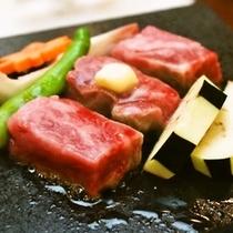 【別注料理】長崎和牛の溶岩焼き