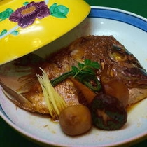【別注料理】鯛のあら炊き