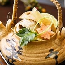 ■鱧と松茸の土瓶蒸し