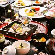 ■うまかもん会席(3月~5月)料理イメージ