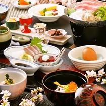 ■うまかもん会席ライト(3月~5月)料理イメージ