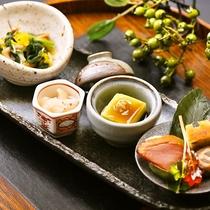 ■秋の旬彩の前菜